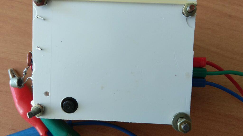 Генератор сигналов XR2206 доработка вид снизу