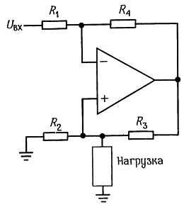 Источник тока Хауленда. Операционный усилитель