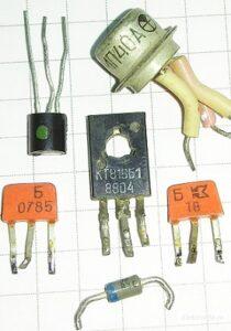 Кодовая и цветовая маркировка транзисторов, диодов и стабилитронов