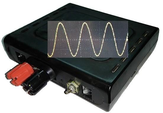 Генератор для проверки линий связи на LM358 и мосте Вина