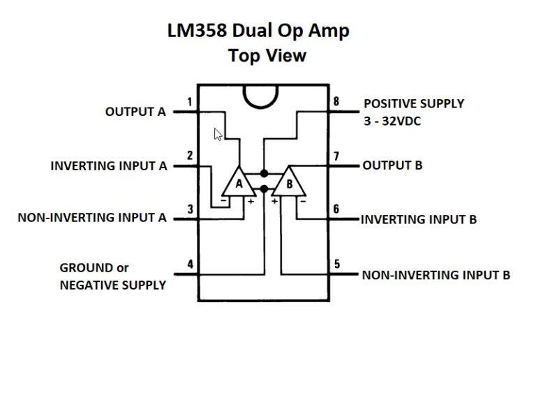lm358 что внутри