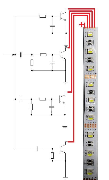светодиодная лента для цветомузыки