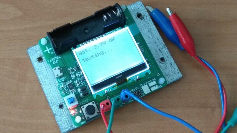 Универсальный тестер ESR meter DIY MG328 загрузка