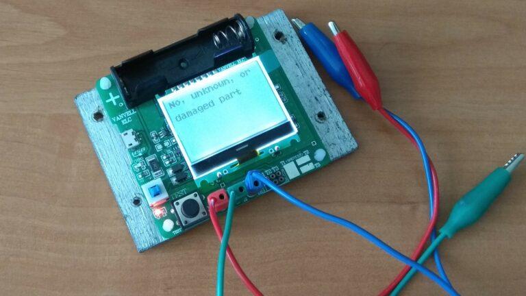 Универсальный тестер ESR meter DIY MG328 не распознанное устройство