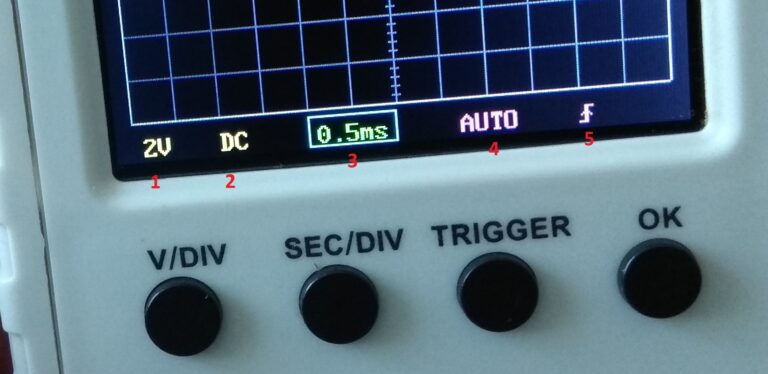 осциллограф DSO150 описание
