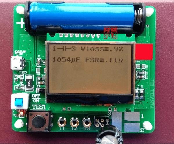 Универсальный тестер ESR meter DIY MG328 конденсатор