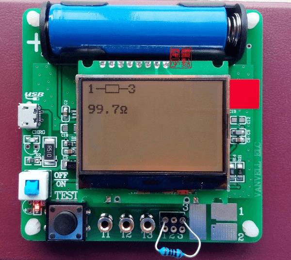 Универсальный тестер ESR meter DIY MG328 проверка резистора