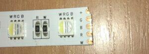 пятачки на светодиодной ленте для соединения проводов