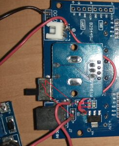 осциллограф DSO 150 перепайка под аккумулятор