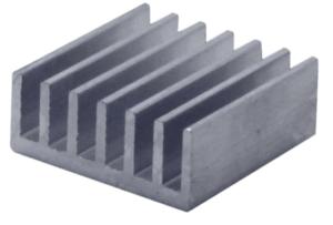 алюминиевый радиатор 14х14 мм