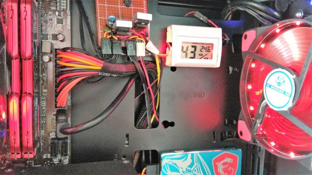 датчик температуры и влажности в компьютере