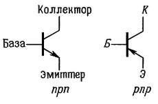 обозначение транзистора