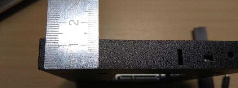 как измерить размер dvd ноутбука