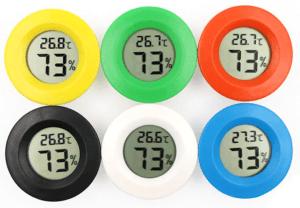 цветные датчики температуры и влажности
