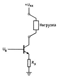 транзисторный источник тока. Основная идея