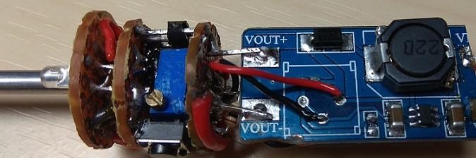 Паяльник на аккумуляторе.