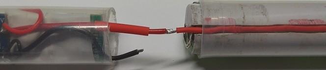соединение верха и низа паяльник на аккумуляторе
