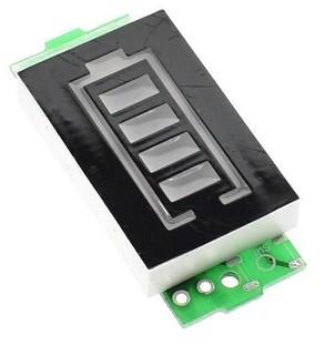 индикатор заряда аккумулятора