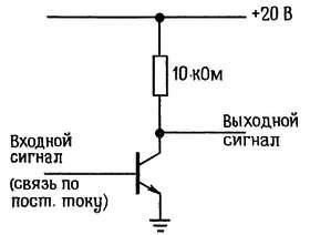 Усилитель с общим эмиттером без отрицательной обратной связи в цепи эмиттера