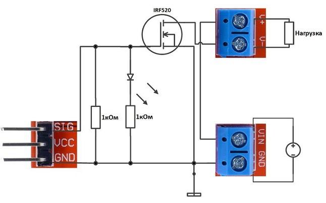 схема модуля 140с07