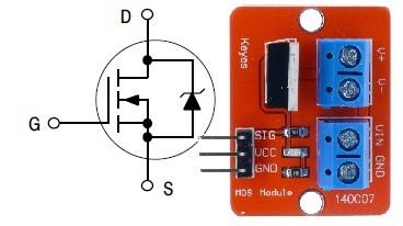 MOSFET модуль 140с07