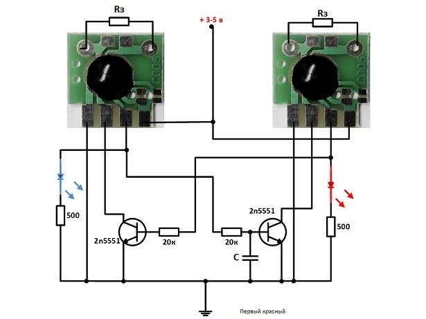 циклический таймер на чипе C005