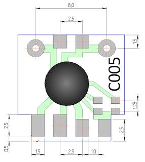 размеры таймера на чипе C005