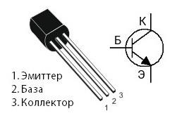 распиновка транзистора 2n5551