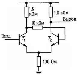 триггер шмитта на транзисторах