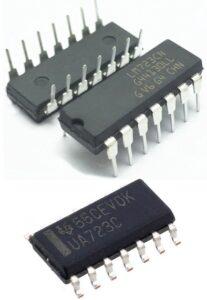 Интегральная микросхема стабилизатора 723