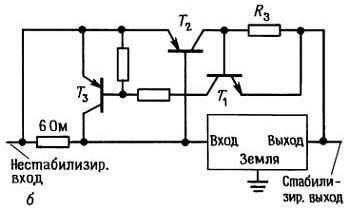 Токоограничивающая схема для усилителя на внешнем транзисторе 2