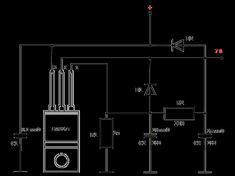 схема качественного блока питания на lm317