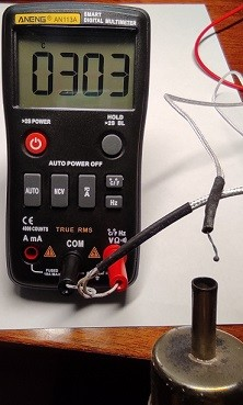 измерение температуры с помощью термопары