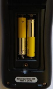 отсек для батареек. Обзор мультиметра AN113A