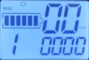 замена контроллера электросамоката - показания тахометра