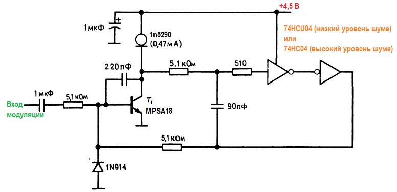Конструкции генераторов. малошумящий генератор