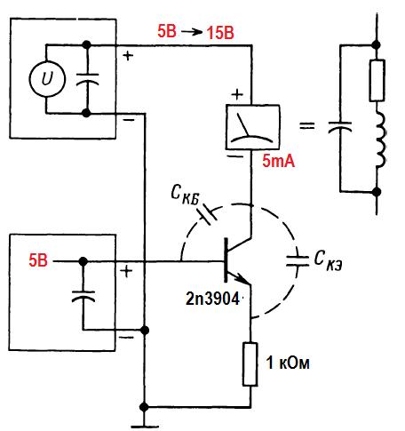 Конструкции генераторов. пример паразитного генератора