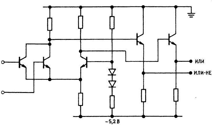 эмиттерно-связанная логика (ЭСЛ)