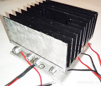Модули с радиаторами.
