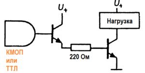 Для коммутации больших токов используйте второй транзистор