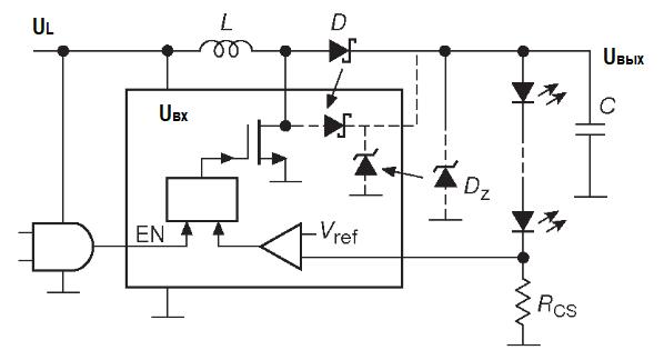 специальные источники для питания светодиодов А. Элементы оптоэлектроники