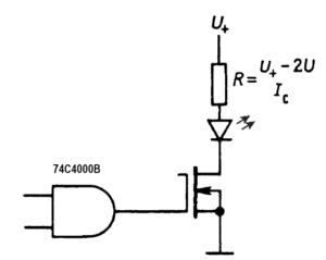 способы управления индикаторами на светодиодах 3