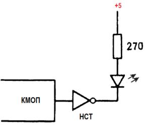 способы управления индикаторами на светодиодах 5