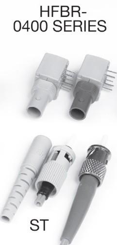 HFBR. Волоконно-оптическая связь. Варианты реализации