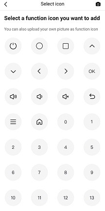 добавляем кнопки на виртуальный пульт Broadlink12