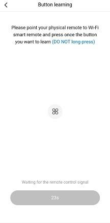 добавляем кнопки на виртуальный пульт Broadlink8