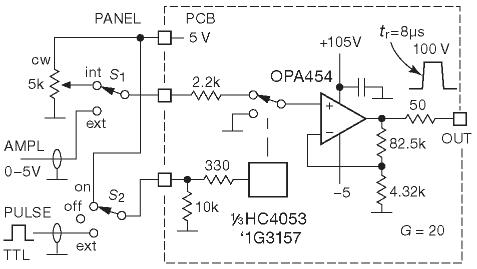 Простой генератор высоковольтных импульсов, с программируемой амплитудой и формой. АЦП. Методы преобразования
