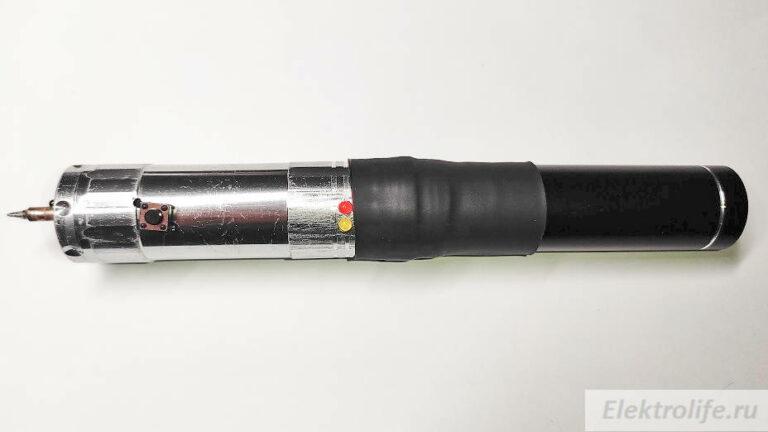паяльник на аккумуляторе с терморегуляцией