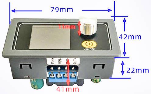 Габариты. Цифровой преобразователь напряжения XYS3580