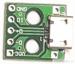 Разъем USB-micro. Электронные песочные часы